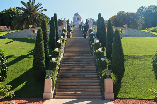 All the wonderful things: Israel Traveldiary #1 - Einreise, Erste Eindrücke und Feiertage, Baha'i Gärten Haifa