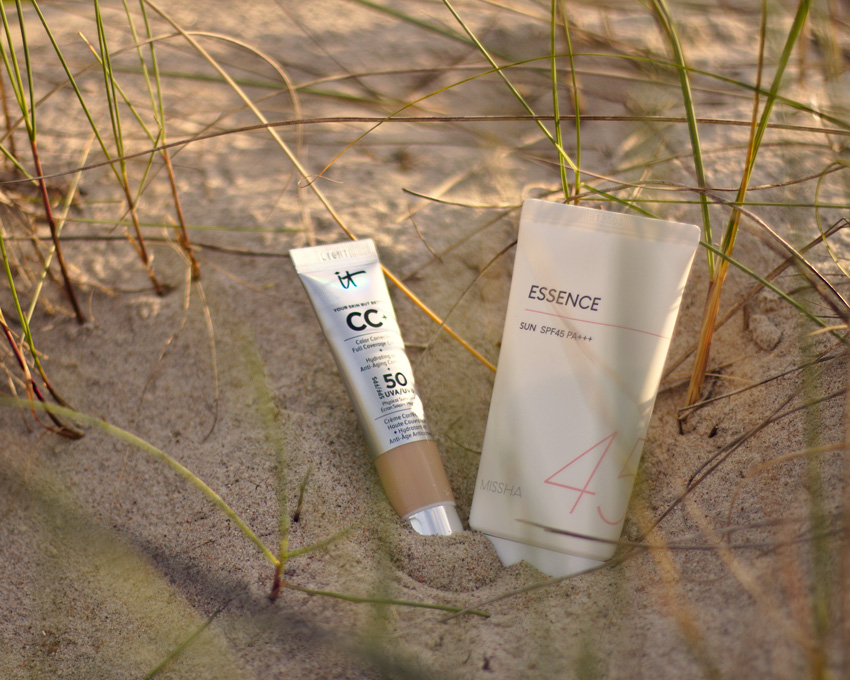 All the wonderful things: Das perfekte Sommer-Make-Up IT Cosmetics CC Creme  Missha Block Essence Sun