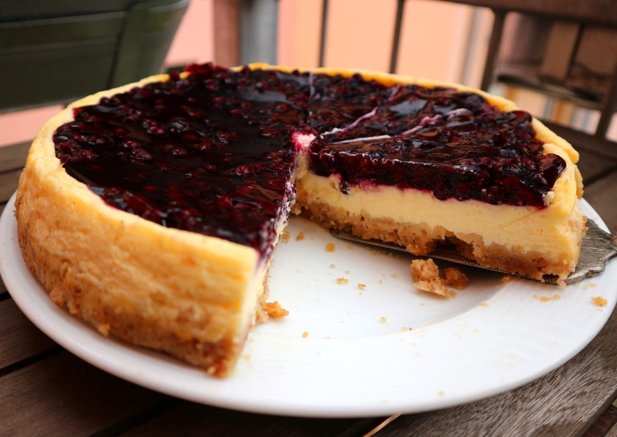 Heidelbeer-Creamcheese