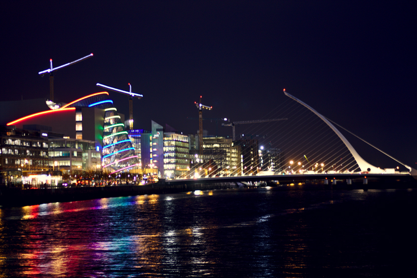 All the wonderful things: Irland Traveldiary #1 - Dublin, Samuel Beckett Bridge