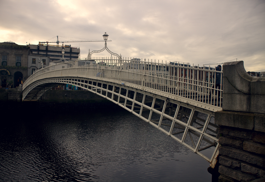 All the wonderful things: Irland Traveldiary #1 - Dublin, Ha'Penny Bridge