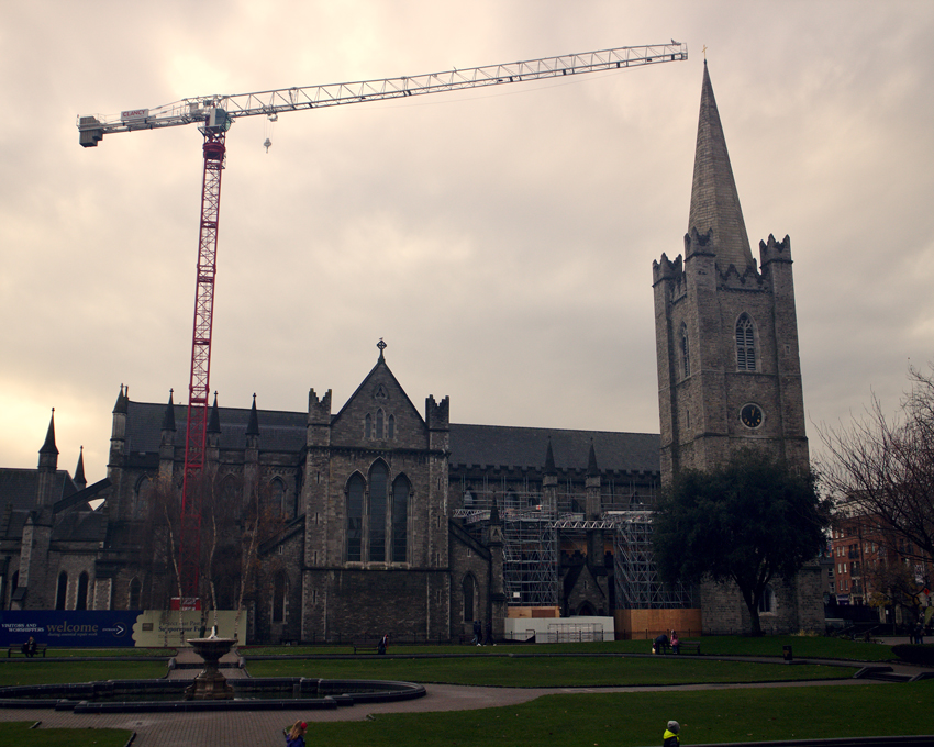 All the wonderful things: Irland Traveldiary #1 - Dublin, Saint Patricks cathedral