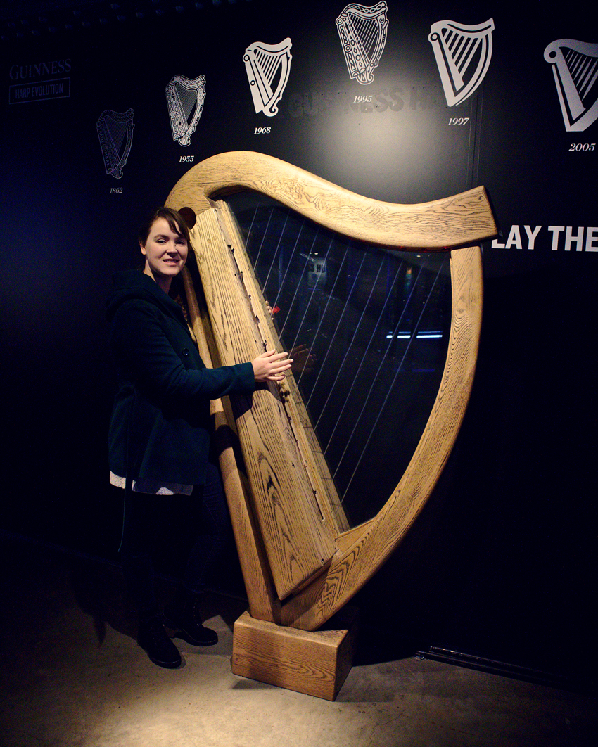 All the wonderful things: Irland Traveldiary #1 - Dublin, Guiness Storehouse