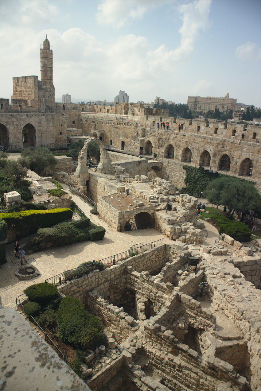 All the wonderful things: Israel Traveldiary #4 - Das einzigartige Jerusalem; Reise Davidsturm