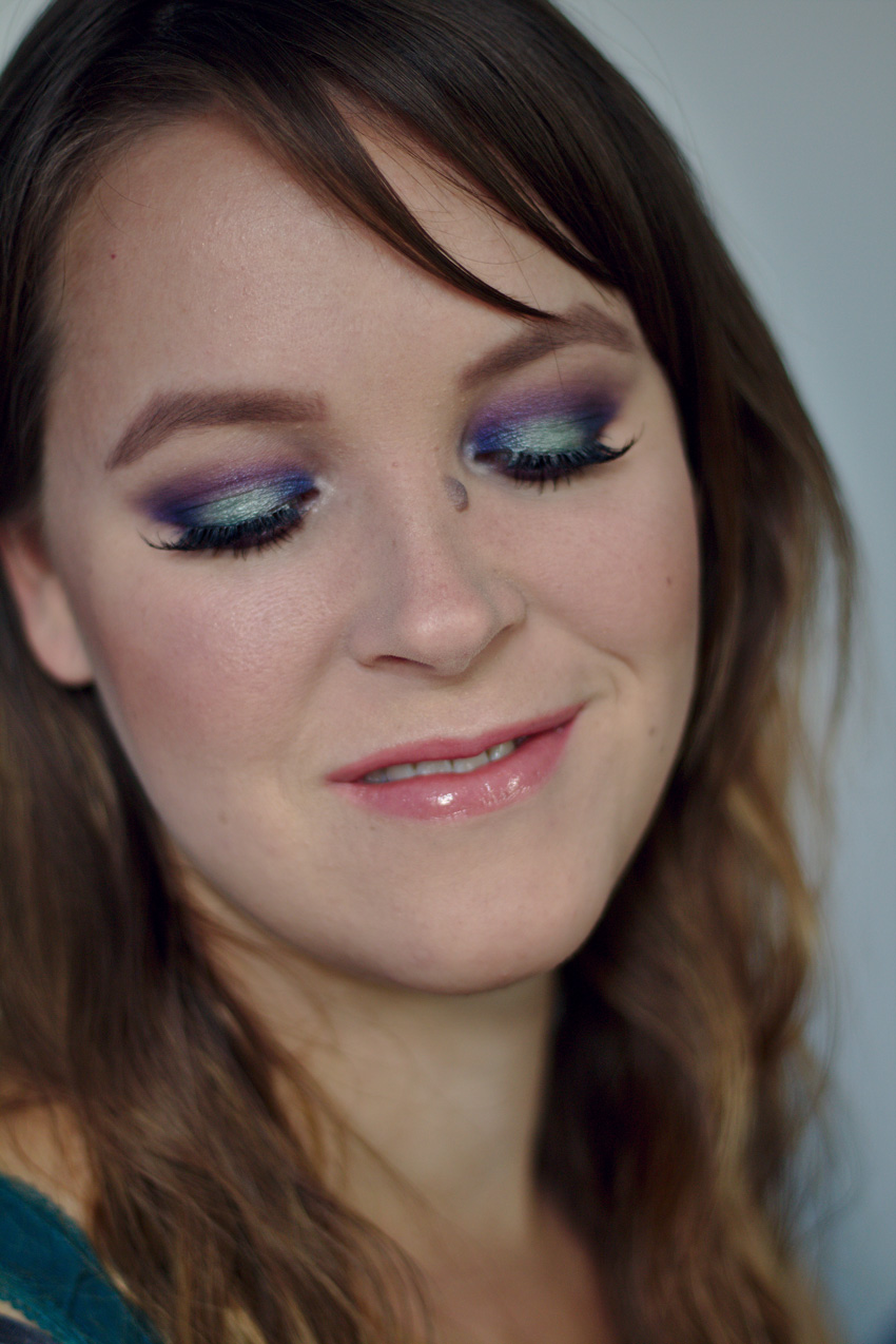 All the wonderful things: Eine Palette 3 Looks: Essence Epic Sunset; Succulent inspiried Look