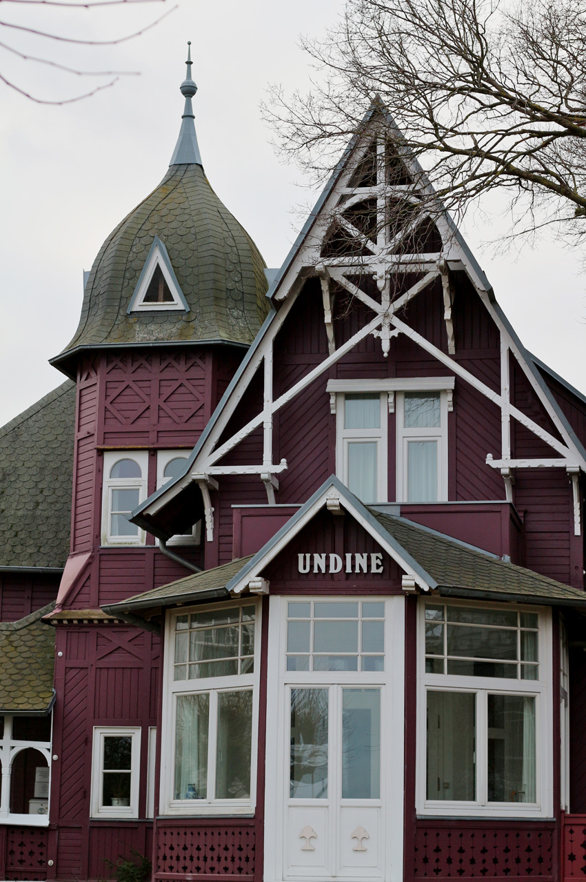 All the wonderful things: Auszeit aif Rügen - Hotelempfehlung und Ausflugs-Tipps; Undine Villa Binz