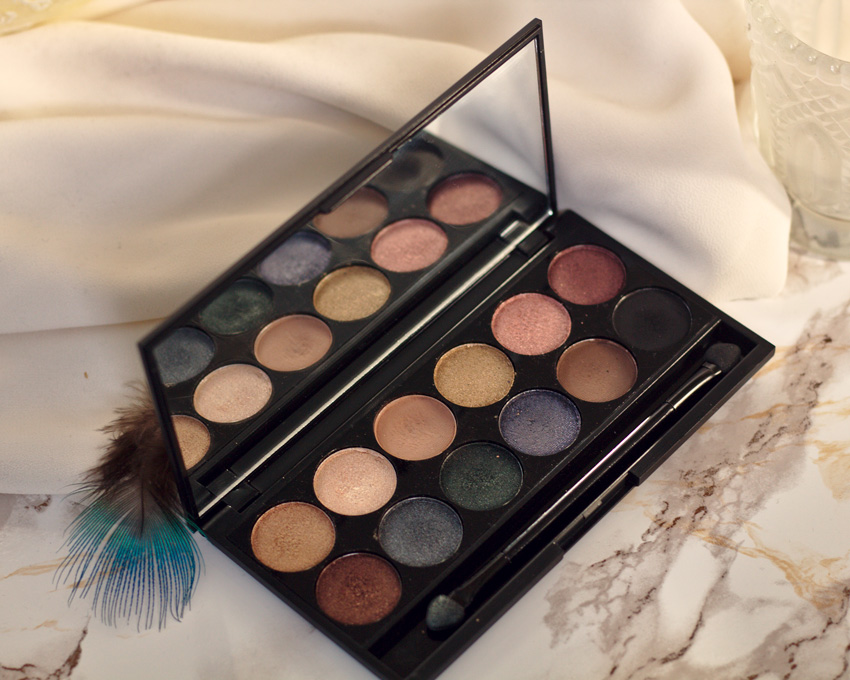 All the wonderful things: Eine Palette 3 Looks - Sleek MakeUP i-Divine Strom Lidschatten Palette Review