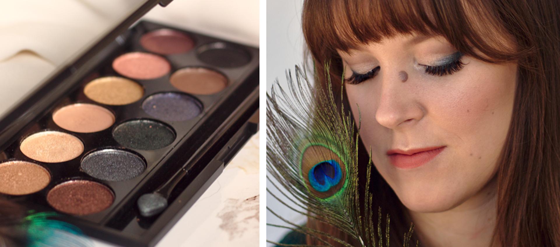 Eine Palette 3 Looks - Sleek i-Divine Storm Palette