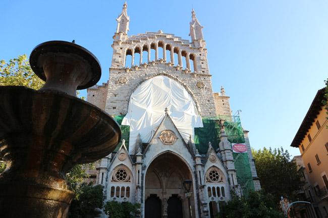 Mallorca Nordwesten Sóller Església de Sant Bartomeu
