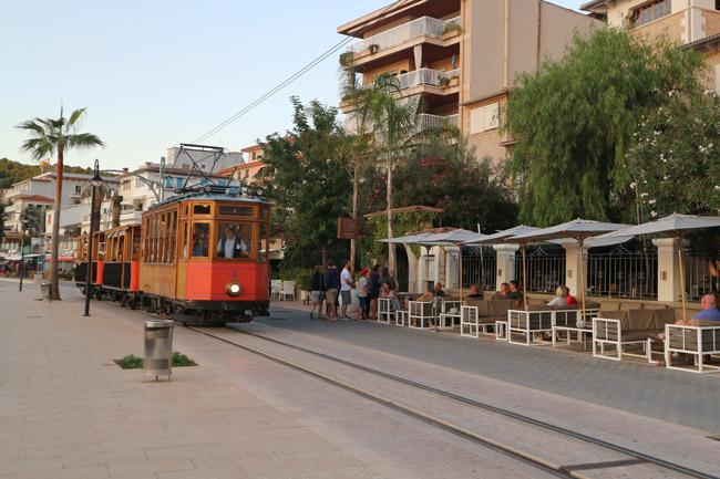 Mallorca Nordwesten Port de Sóller Ferrocarril