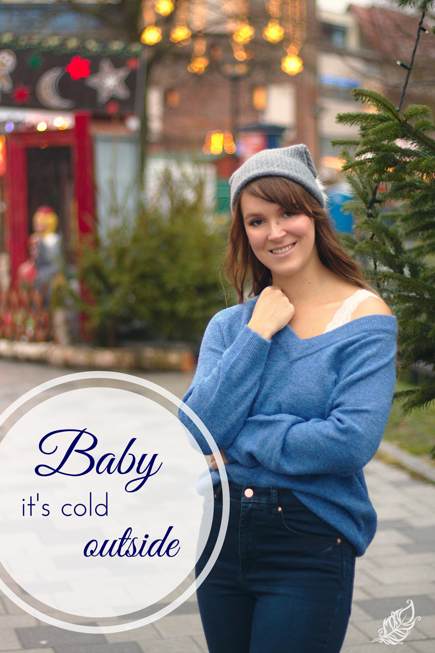 All the wonderful things: Baby it's cold outside Outfit Winter Weihnachtsmarkt