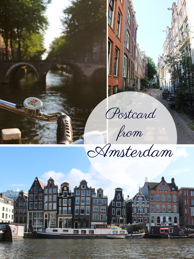 Postcard from Amsterdam - All the wonderful things Urlaubstipps