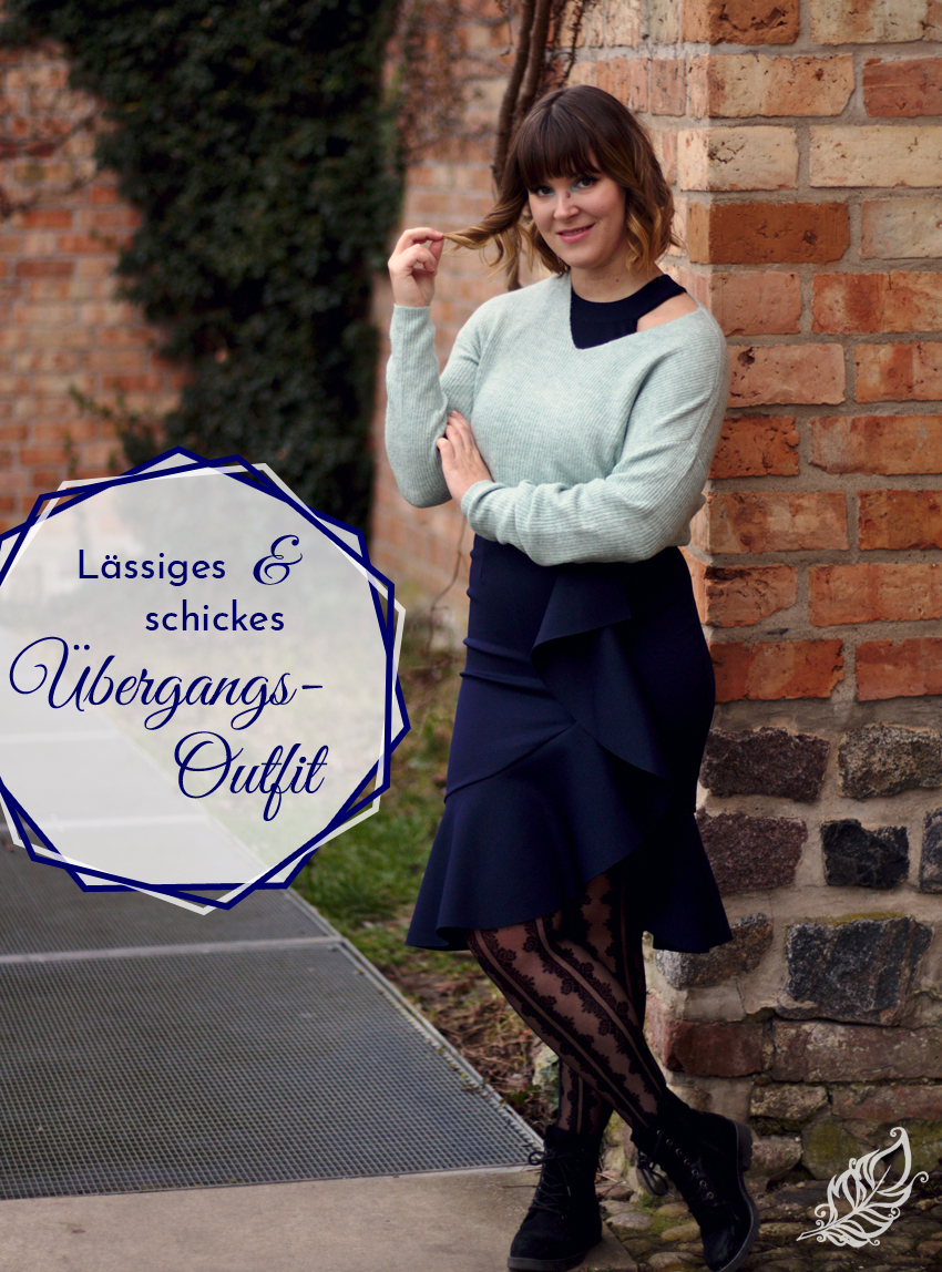 All the wonderful things: Lässiges und schickes Übergangs-Outfit