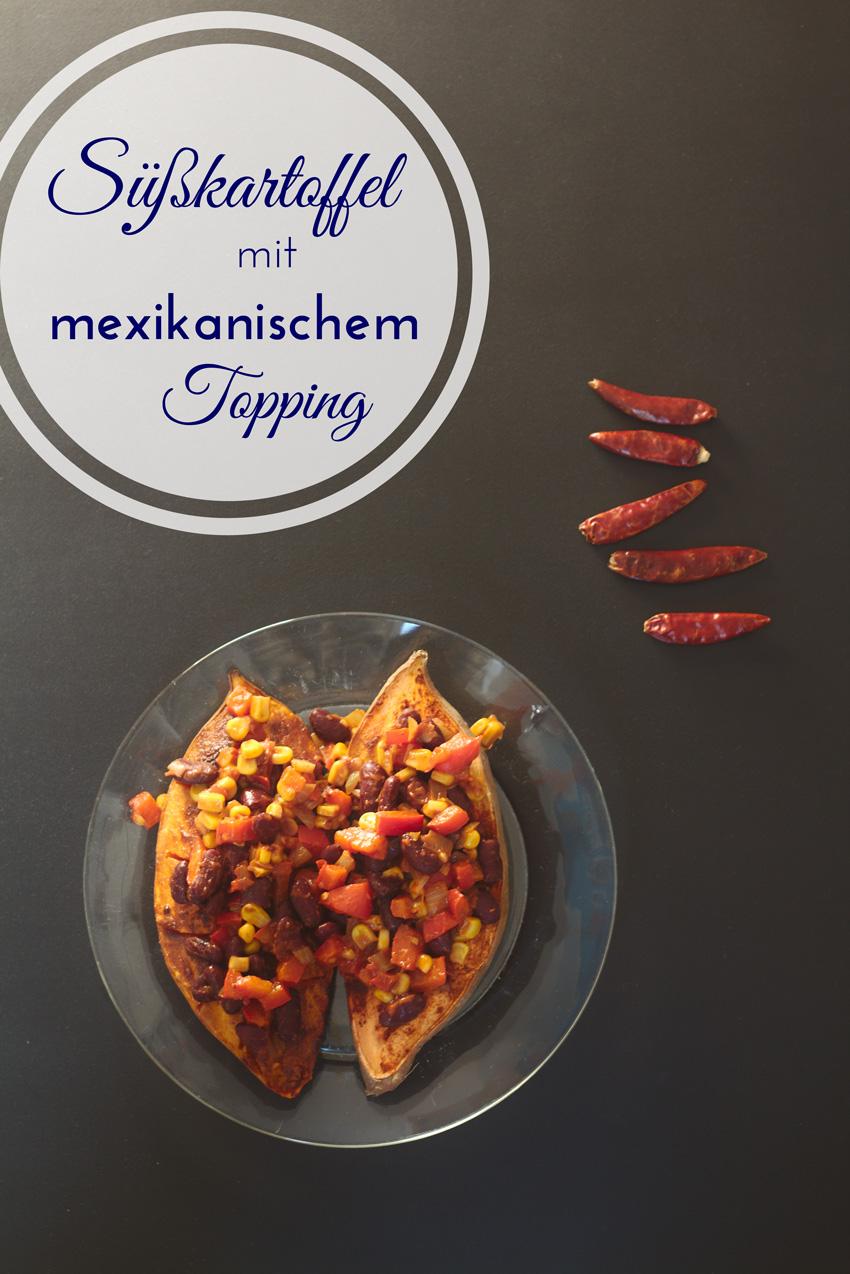 All the wonderful things: Rezept für Süßkartoffel mit mexikanischem Topping