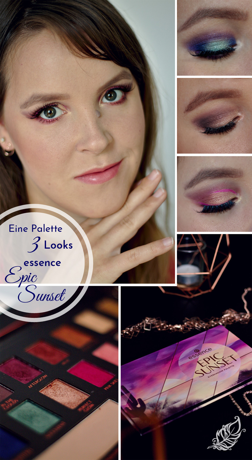 All the wonderful things: Eine Palette 3 Looks: Essence Epic Sunset