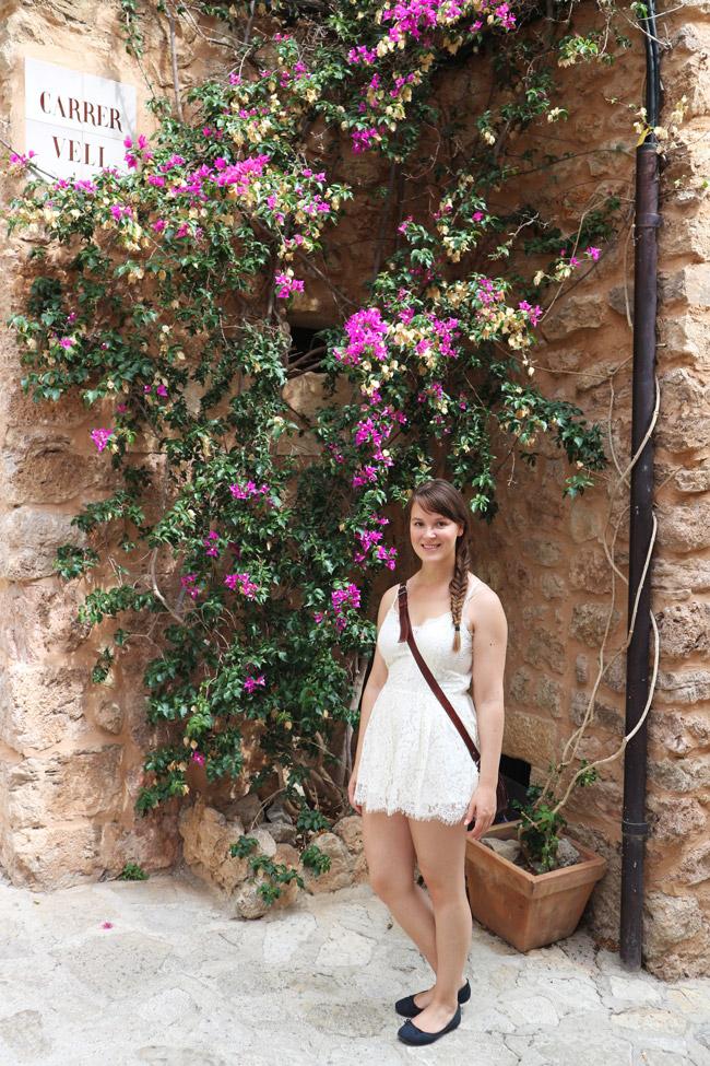 Mallorca Nordwesten Valldemossa Outfit Jumpsuit