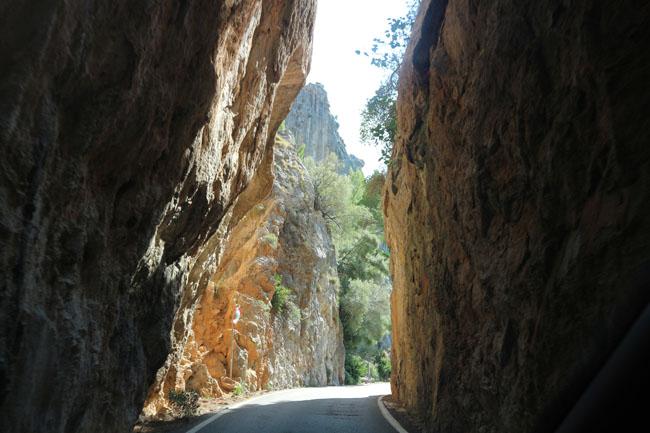 Mallorca Weg nach Sa Calobra